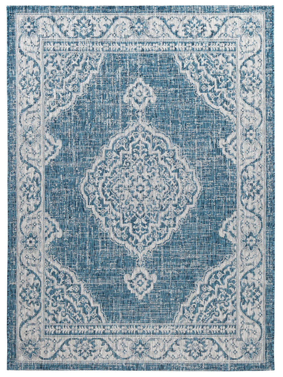 Mod Arte Ibiza Collection Area Rug Indoor Outdoor Runner