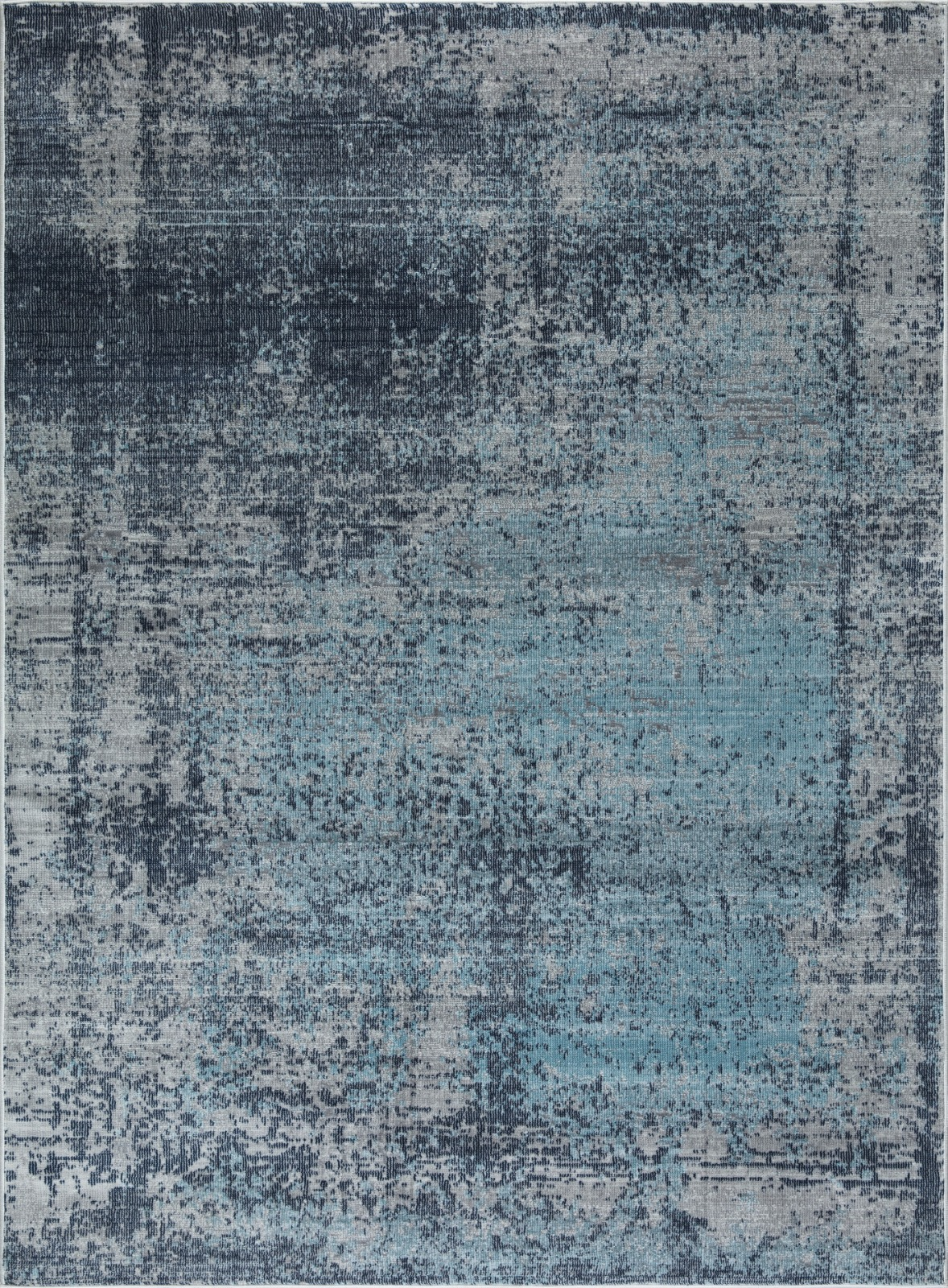 Picture of: Mod Arte Mirage Collection Area Rug Modern Contemporary Style Abstract Soft Plush Navy Blue Gray 5 2 X 7 2 Shoprhc